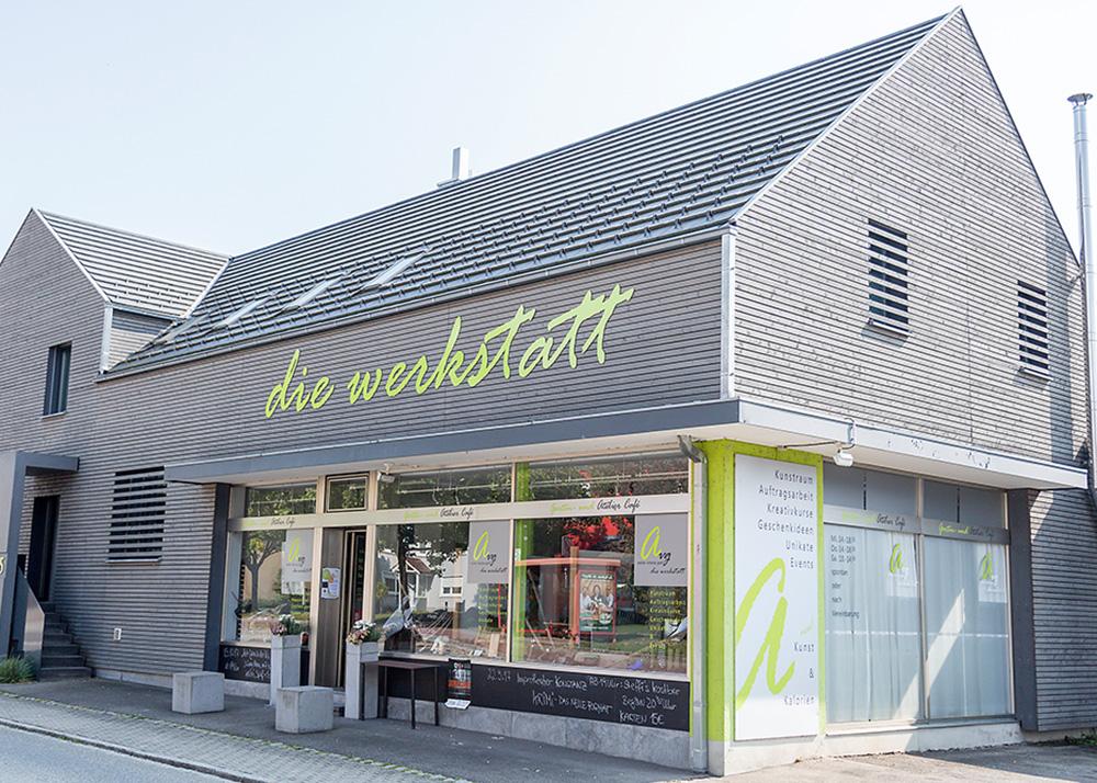 die Werkstatt in Böhringen