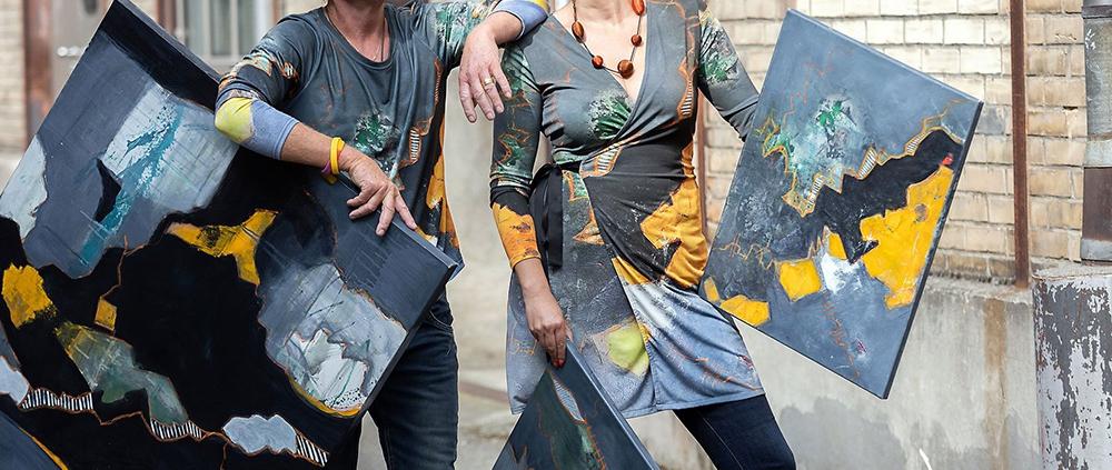 Kunstkleider von Victoria Graf
